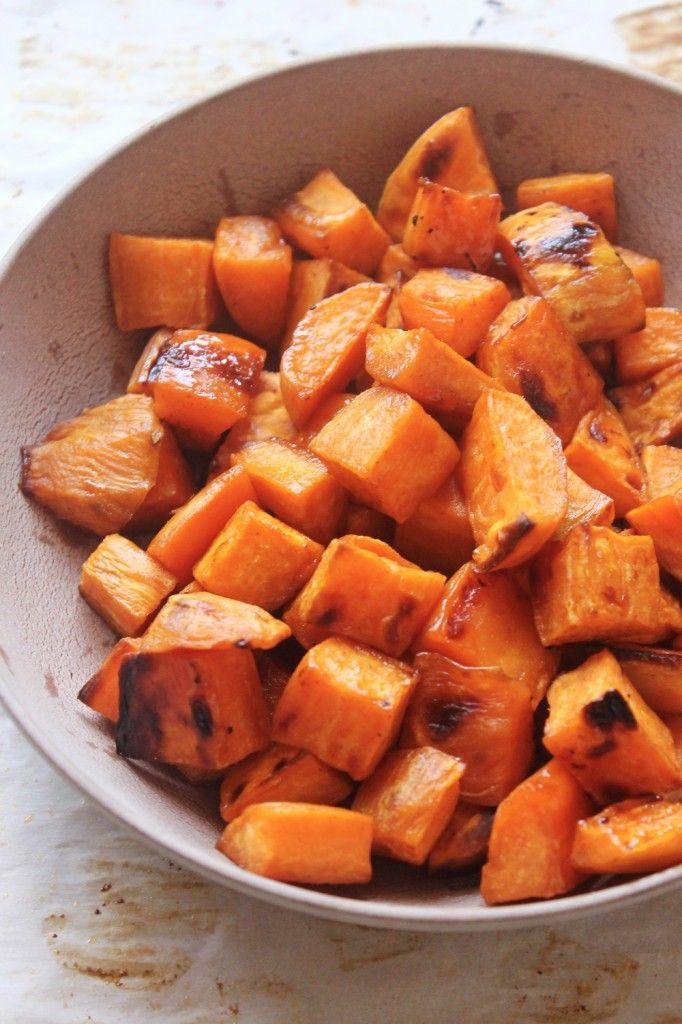 Maple Cinnamon Sweet Potato Bites | Natural Chow