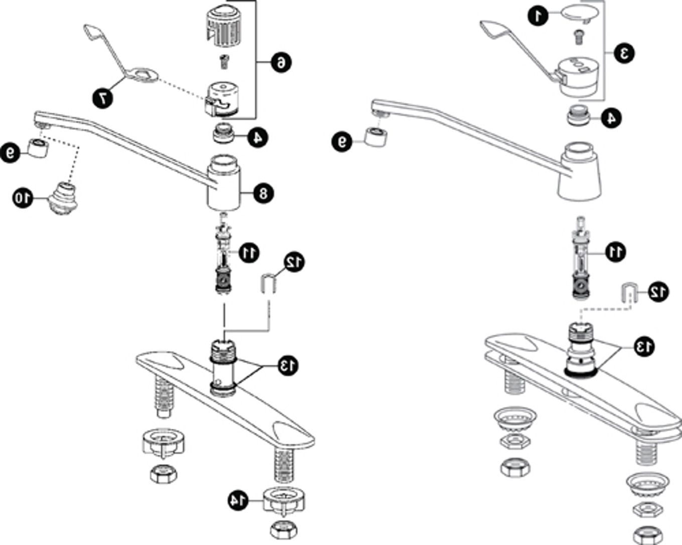 Moen Faucet 7400 Diagram Manual Guide