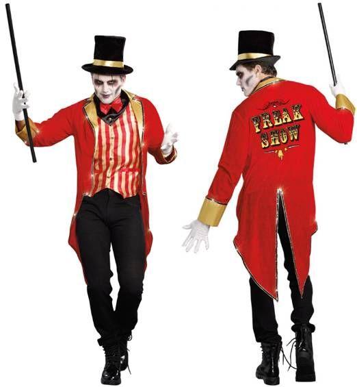 Adult Freak Show Ringmaster Circus Costume