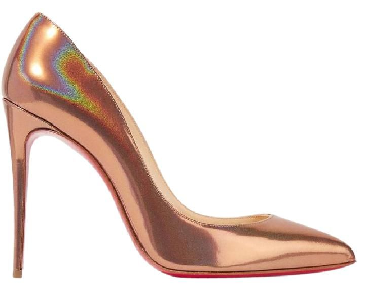 competitive price fbac4 e659f Bronze Pigalle Follies Metallic 100mm Pumps | Shoes | Pumps ...