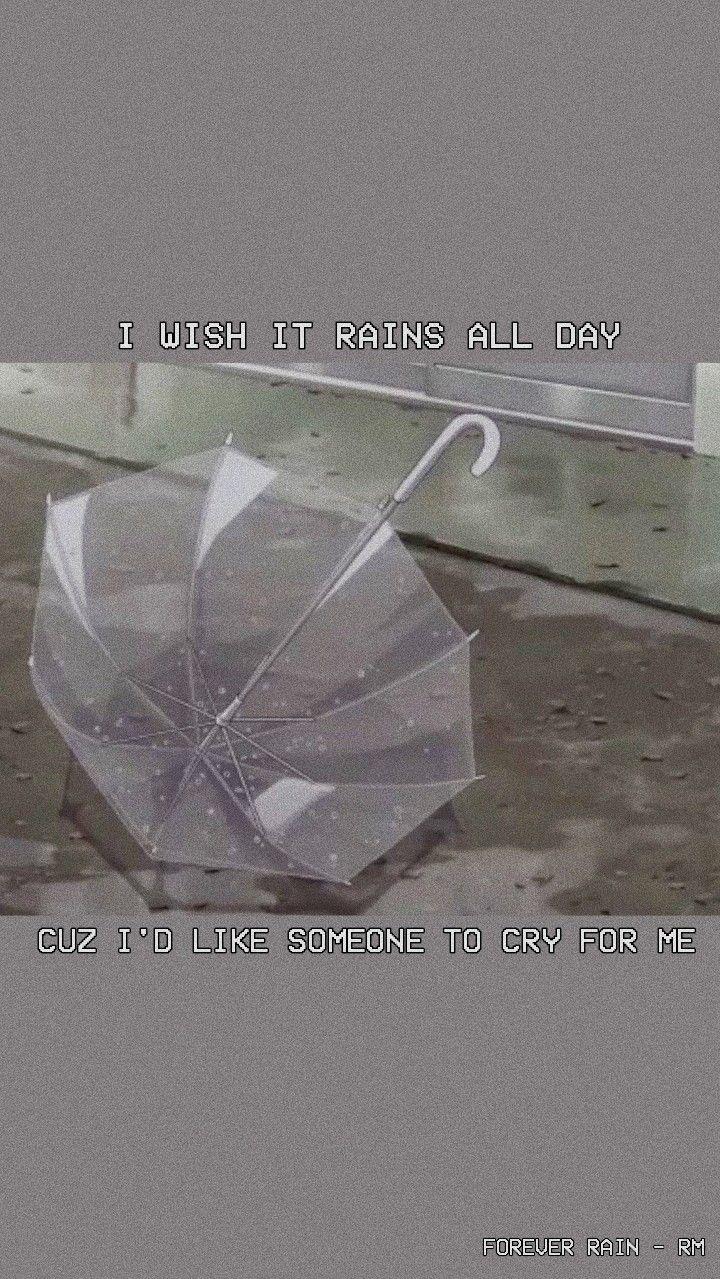 forever rain wallpaper - lockscreen ♡