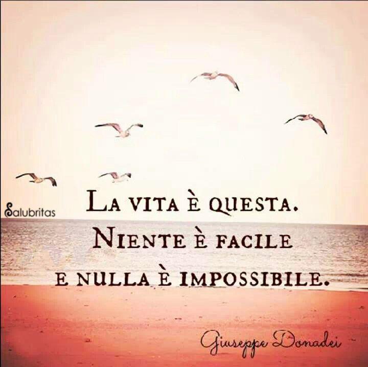 Well-known La vida es tal cual, nada es fácil, y nada es imposible. Si  XU91