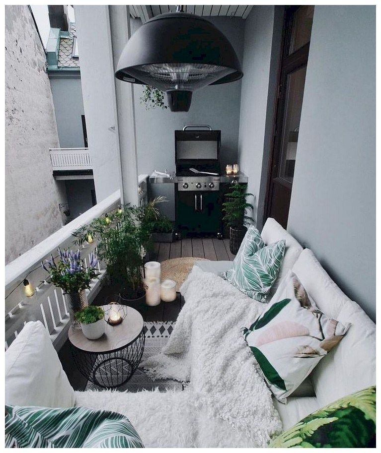 46 ways to turn your tiny balcony into an irresistible outdoor space 20 #apartmentbalconydecorating