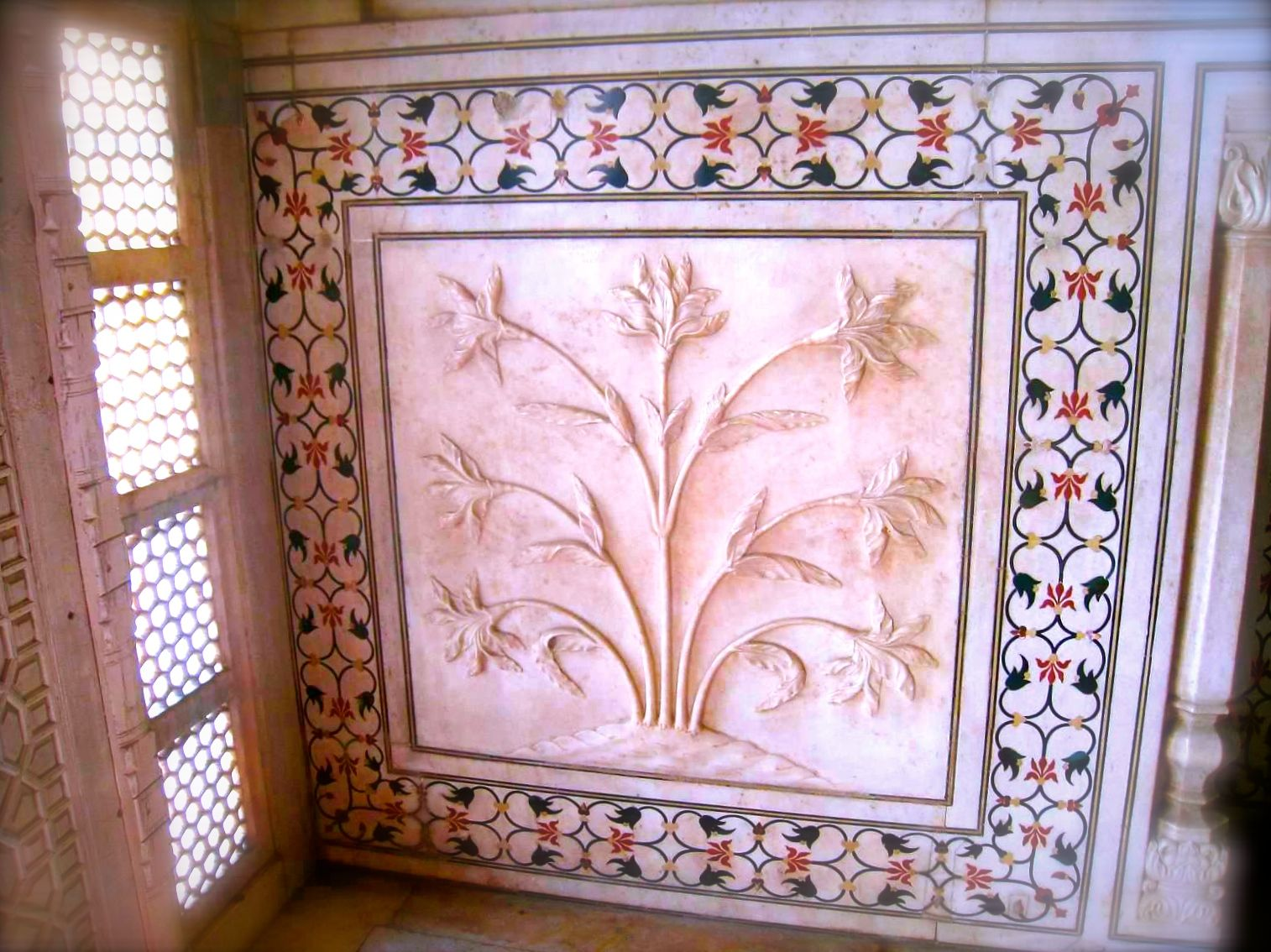 Taj Mahal - interior - detail, detail, detail and the talent ...