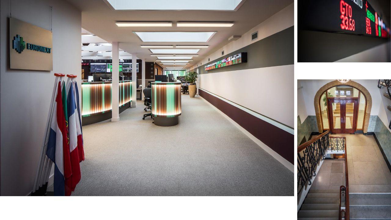 Entrence office euronext beursplein amsterdam by derksdenboer
