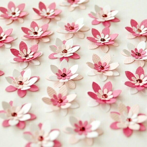 Paper flower crafts pinterest flower flowers and craft paper flowers cherry blossoms to glue to branches mightylinksfo