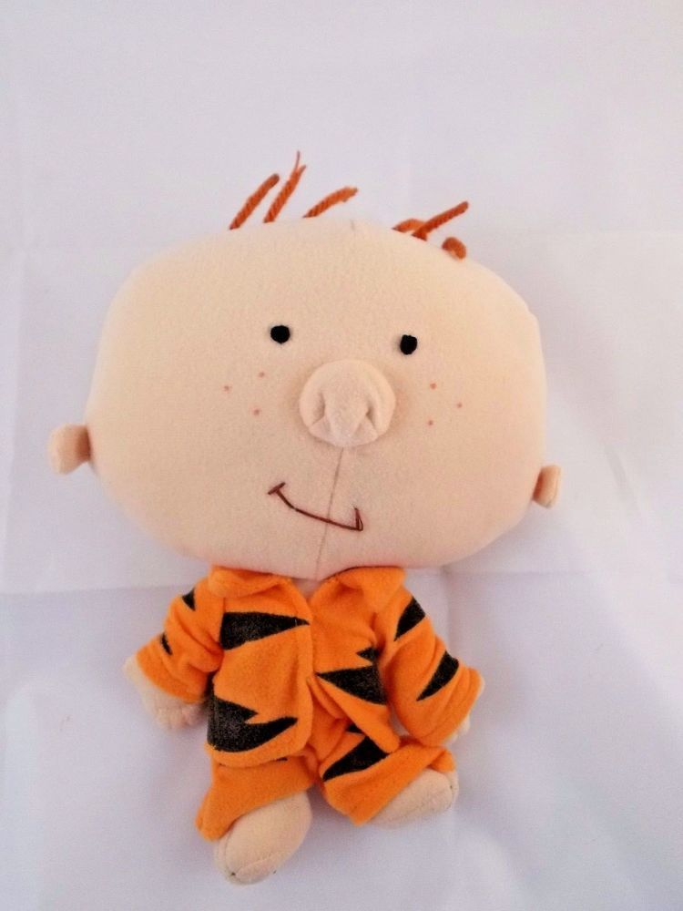Applause Stanley Plush Doll in Tiger Pajamas 9