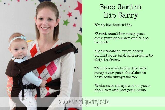 9669f04fe8b babywearing Beco Gemini Hip Carry