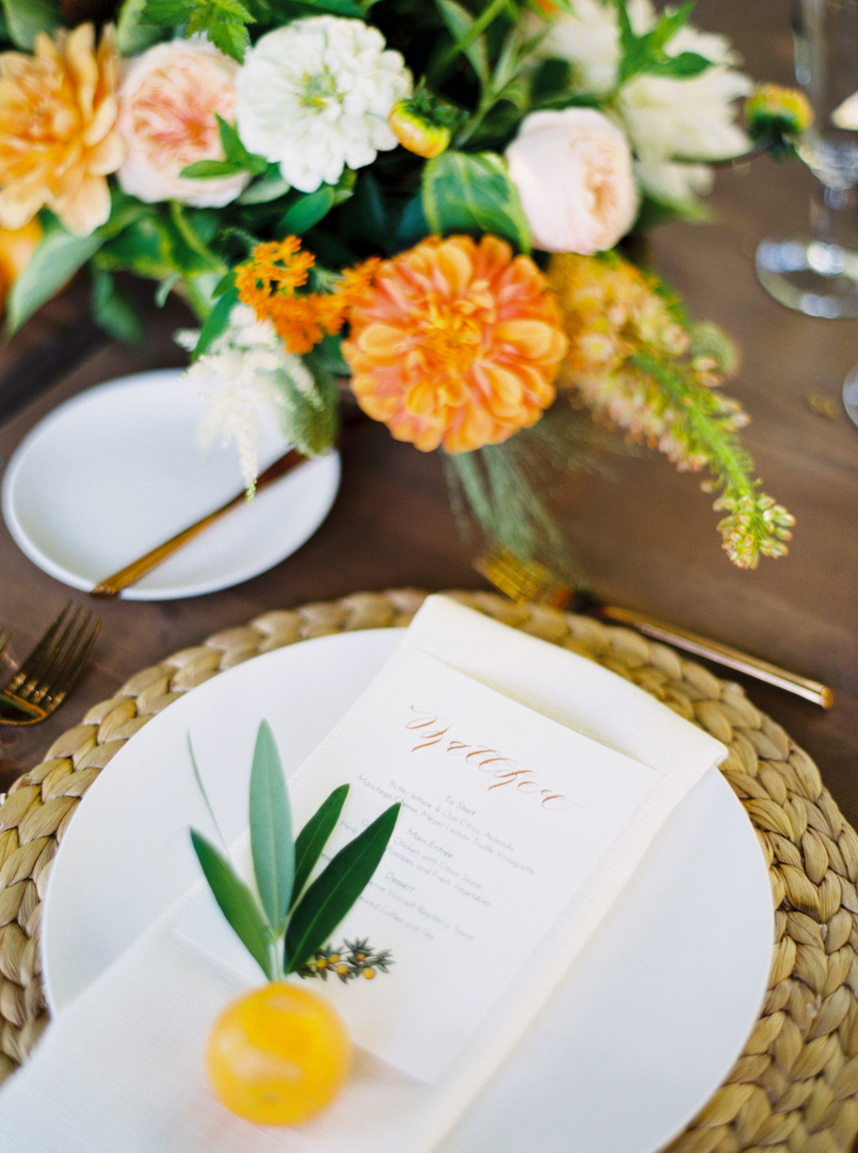 Ojai Valley Inn Rehearsal Dinner by all you need is love events