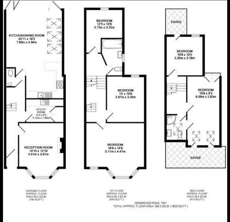 Pin By Sharyn Guarino On Floor Plan House Extension Plans Kitchen Floor Plans Floor Plans