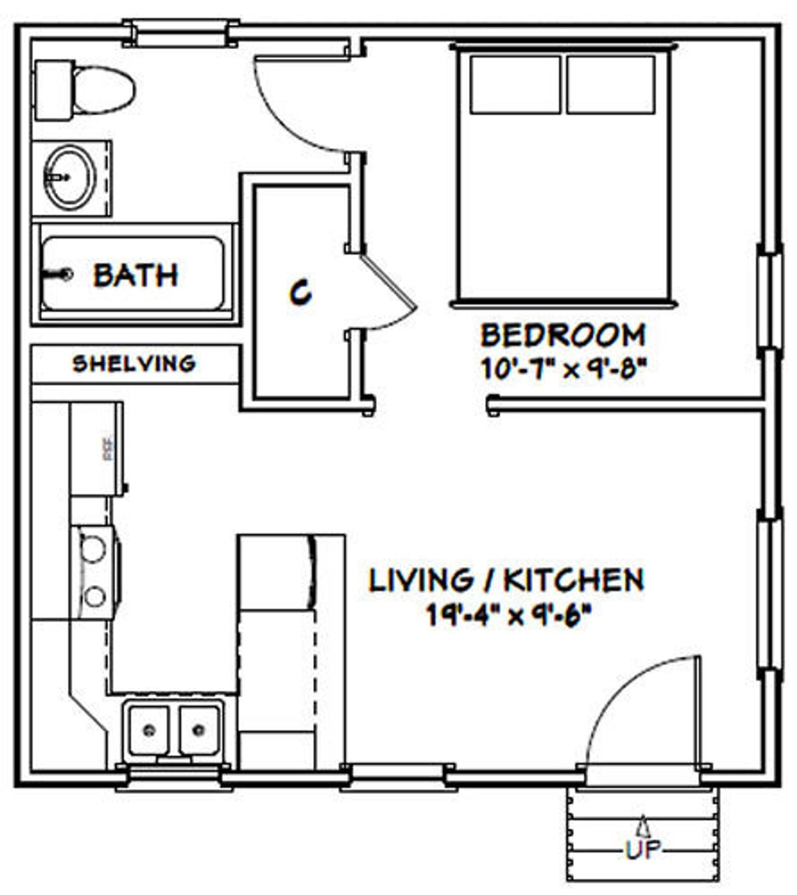 11+ 20 x 20 house floor plans image popular