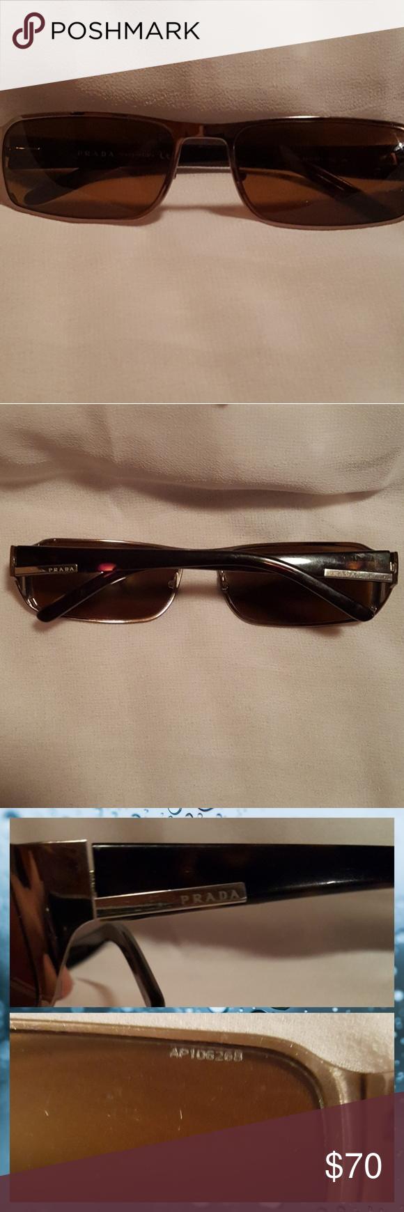 e0df9e9521e54 ... best prada sunglasses sunglasses stamped prada model spr 52f color 4sc  2z1dark brown lenses. 4906d