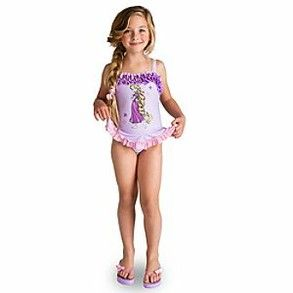 d511c598beb8 Cute Disney Princess swimsuits for little girls.