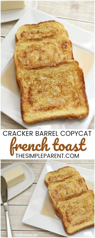 Copycat Cracker Barrel French Toast Recipe Anyone Can Make!