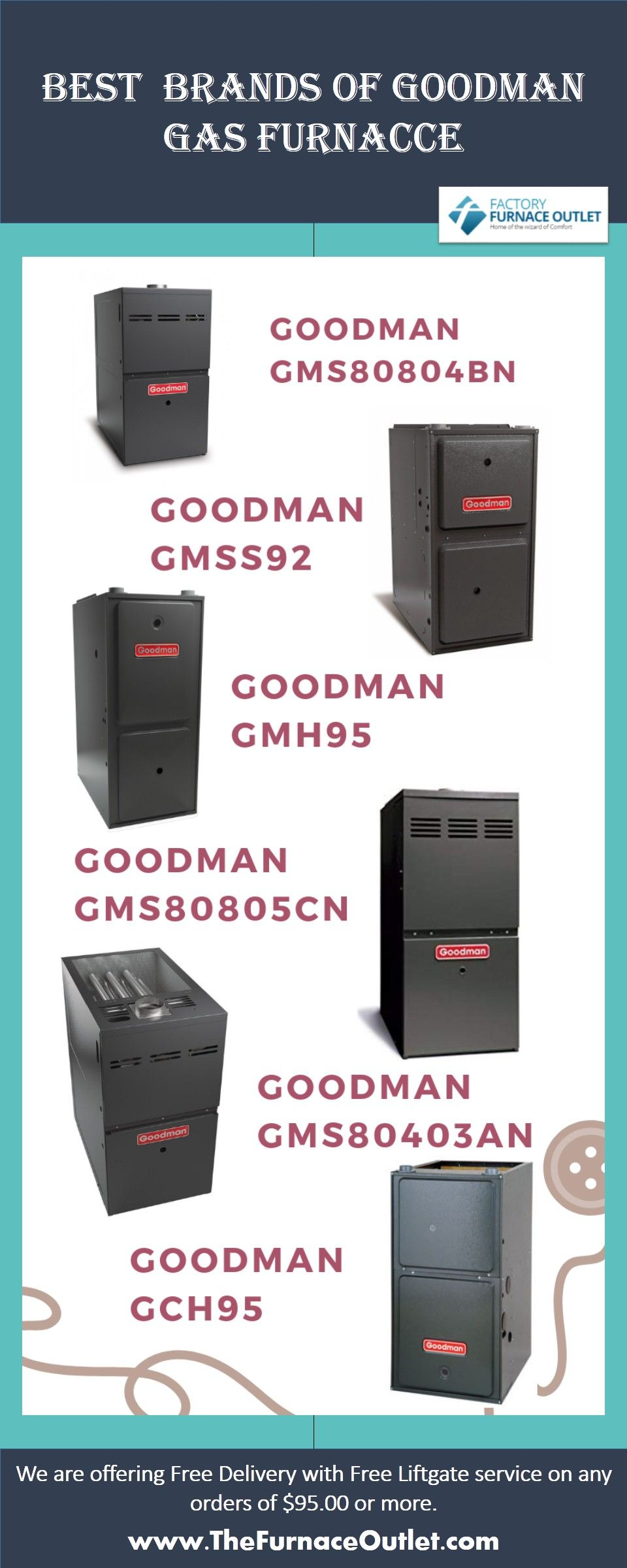 Top Brands of Goodman Gas Furnaces Choose to Buy Top and