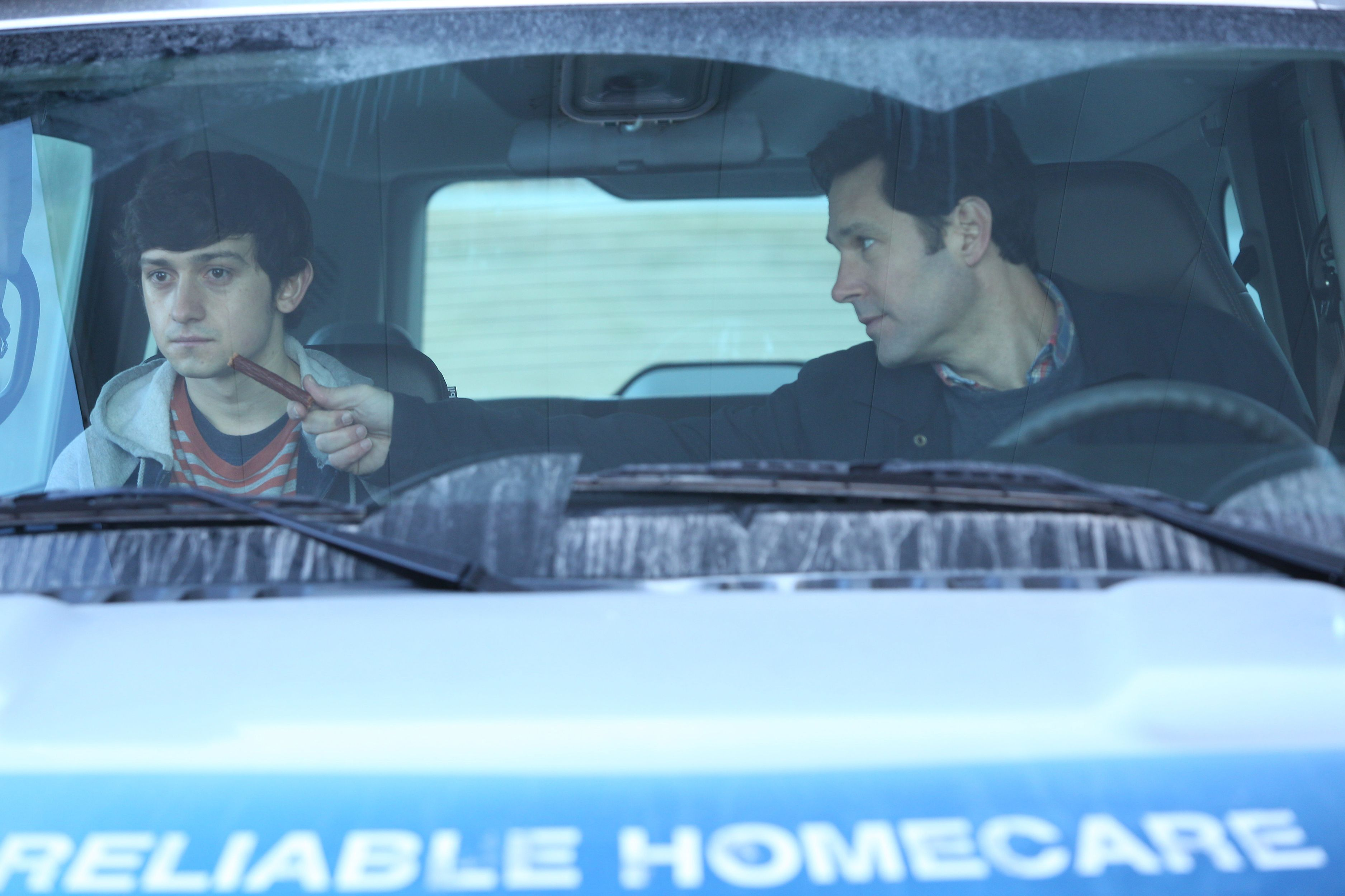 Check out Paul Rudd in The Fundamentals of Caring