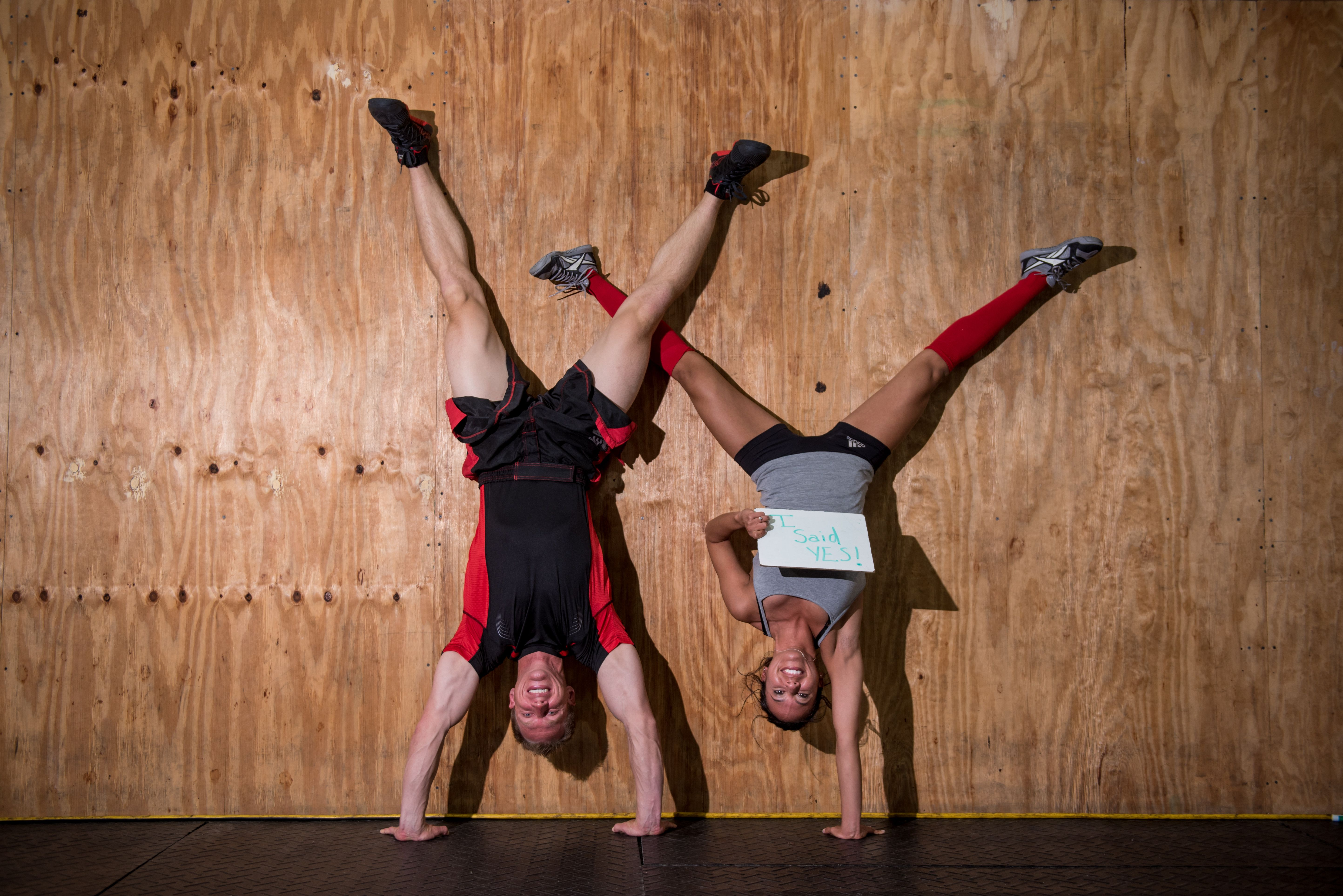 CrossFit Couples Engagement Photos Are Nothing Short Of Badass