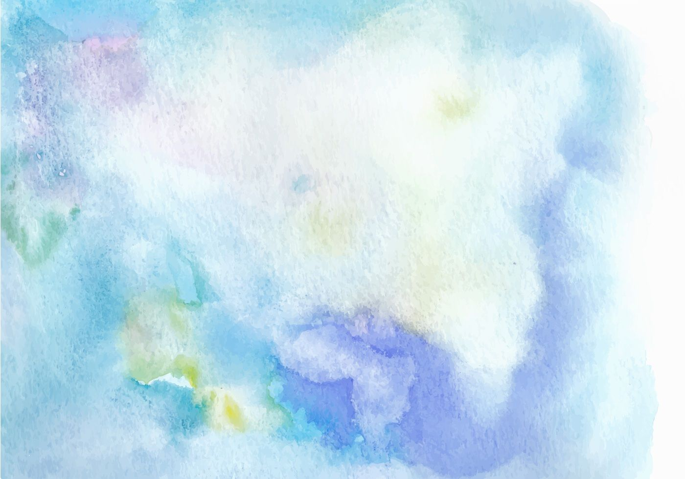 Light blue watercolor background. Hand draw painted