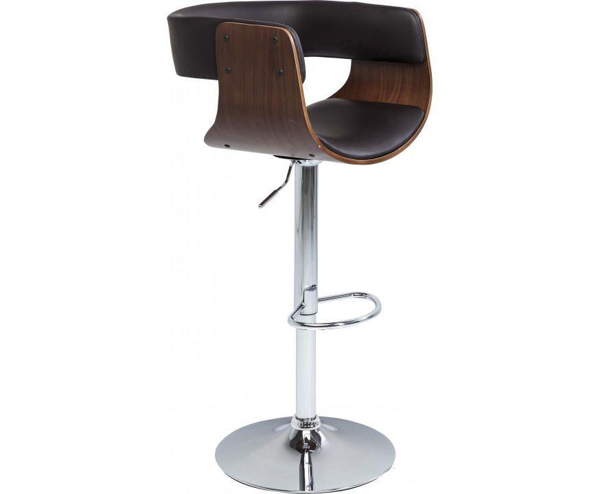 Tabouret de bar manhattan bois kare design meubles pas cher