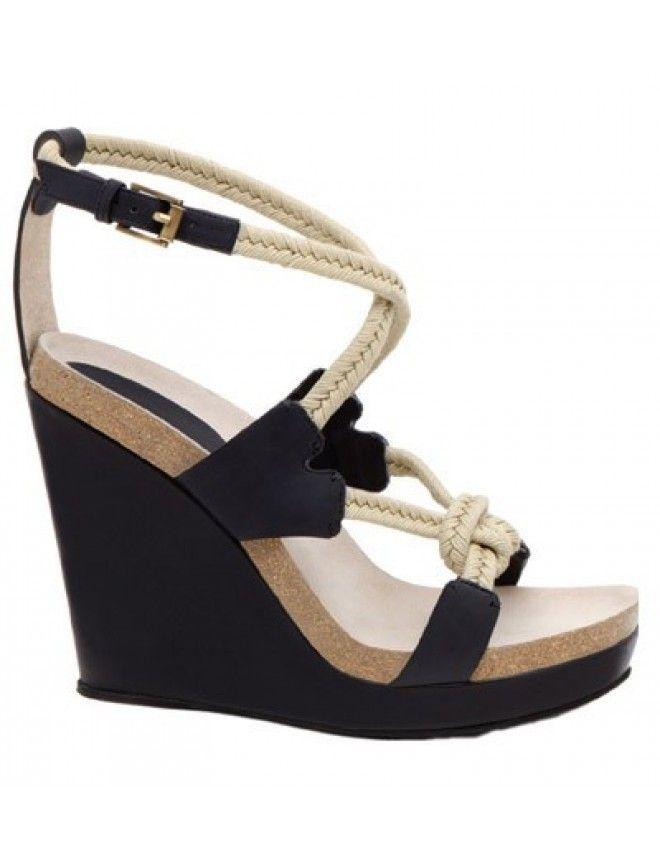 Jil Sander sandals plataform for day