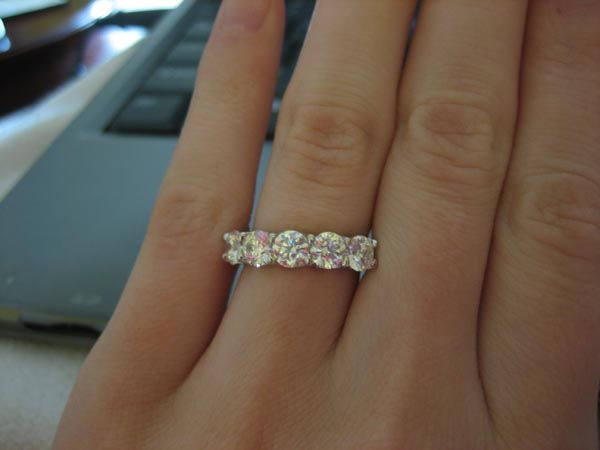 The 5 Stone Ring Thread By Gleam Stacked Wedding Rings Dream Engagement Rings Diamond Rings Carat