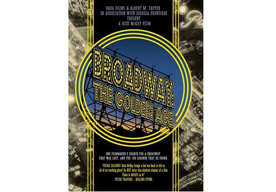 """BROADWAY: The Golden Age DVD - Experience Broadway through the eyes of 100 living legends, who intimately share their fondest memories with laughter and tears, and an undying passion for live theater. Rick McKay's award winning documentary is""""riveting...the most enchanting movie I have seen this year"""" (Rex Reed, NY Observer)."""