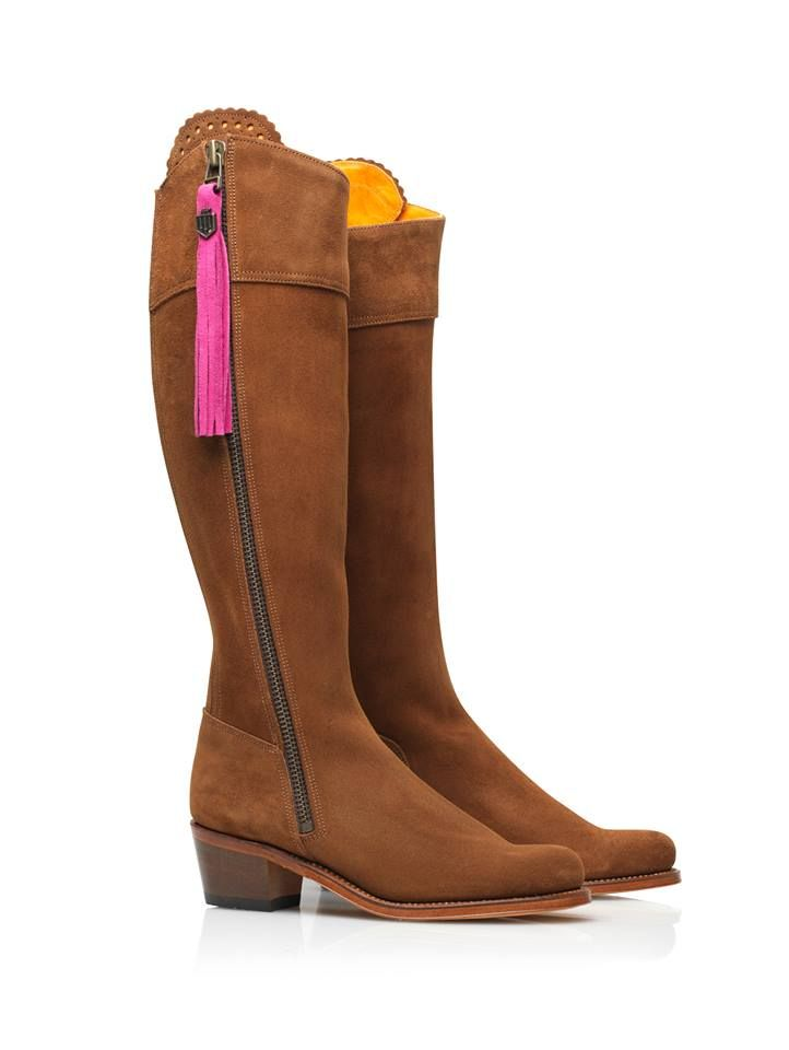 The new Regina Heeled Boots from Fairfax and Favor, available from Ahume.co.uk.