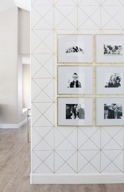 49+ ideas wallpaper accent wall entryway   Accent wall ...