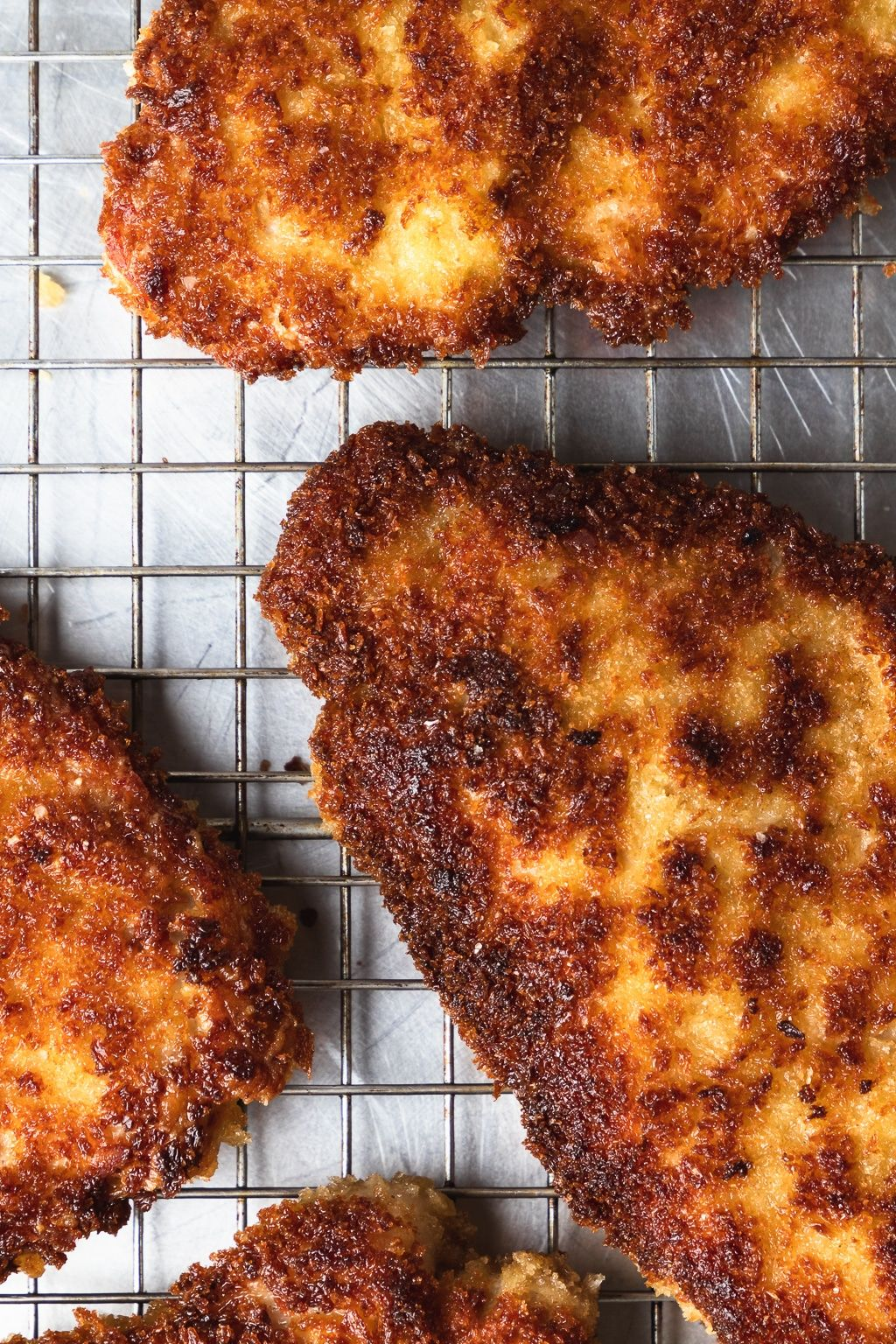 Crispy Pork with Tomato Cherry Pepper Relish Crispy pork cutlets with tomato cherry pepper relish is a super easy but incredibly impressive weeknight meal. Grab the recipe for this crunchy, spicy, satisfying dinner right now!