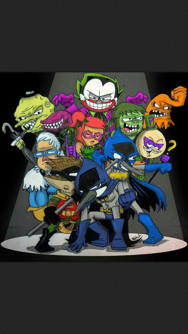Batman X Regular Show Apenas Um Show Animacao Show