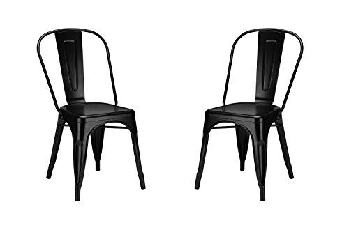Poly and Bark Tolix Style Bistro A Dining Side Chair ...