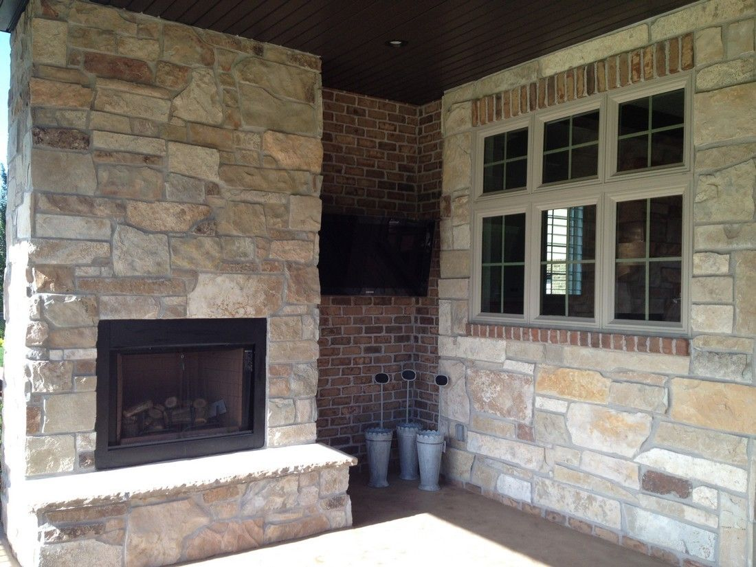 Utah Valley Parade Of Homes Outdoor Fireplace 2016 Hhdu