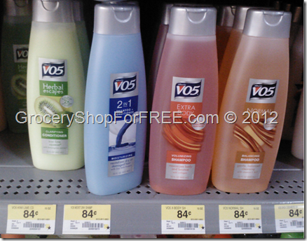 V05 Shampoo coupon!