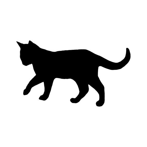 Vinyl Decal Cat By MythicMerchandise On Etsy Our Products - Vinyl decal cat pinterest