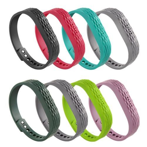 Quilted Color 8 Pack Replacement Wristband Strap Band Bracelet For Fitbit Flex 2 Fitbit Flex Band Bracelet