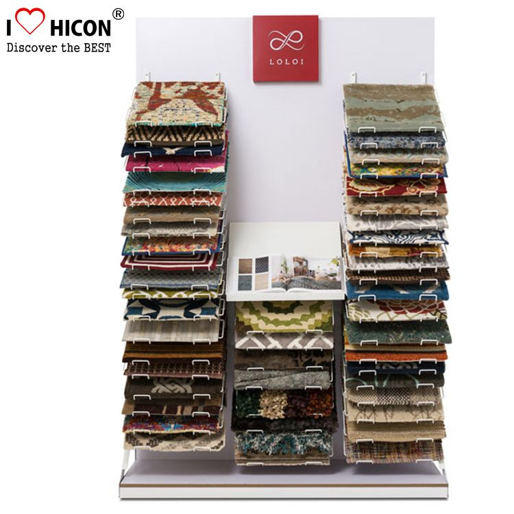 Carpet Display Rack Made Of Wood And Metal For Retail Showroom From Hicon Pop Displays Limited Sunglasses Display Display Case Display