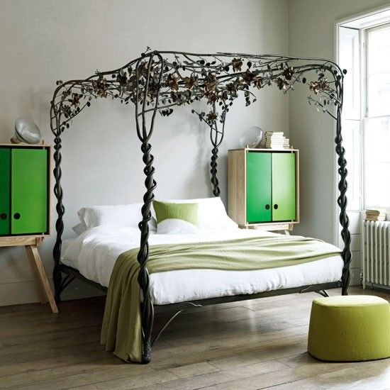 bedrooms - Vintage Bed Frame