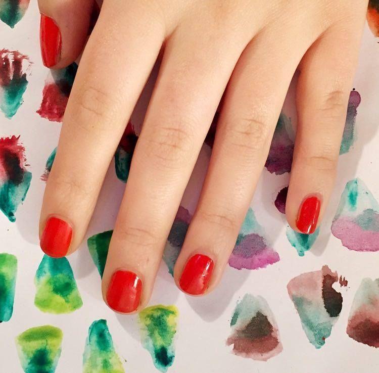 shellac electric orange, essie orange its obvious, nail polish, nail ...
