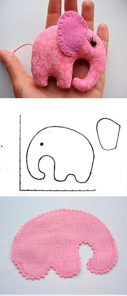 Móvil elefantes para bebés | bebes | Pinterest | Bebe, Elefante para ...