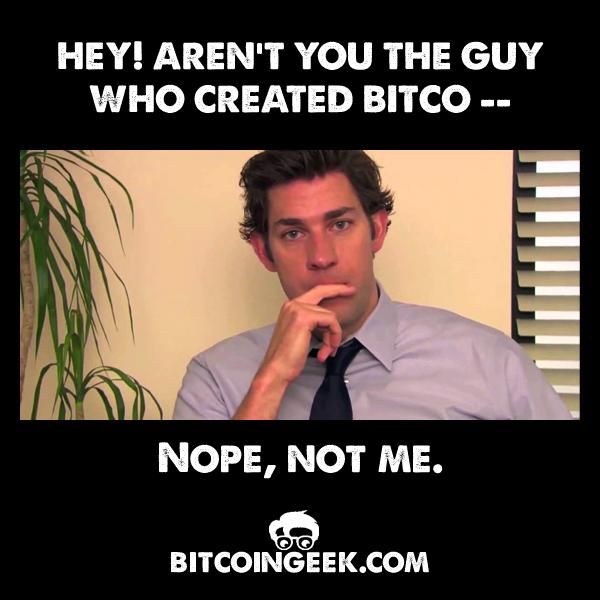 4617af8bd3362018e7ac8dfb64ea20f9 do you know who this guy is? bitcoingeek bitcoinmeme