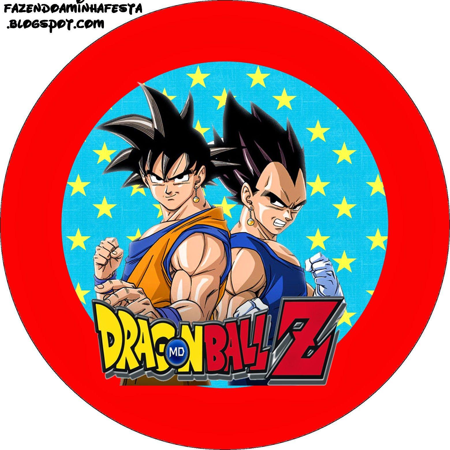 Dragon Ball Z Free Printable Candy Bar Labels Cumpleanos De