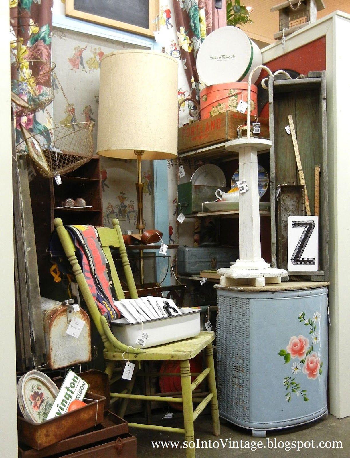 5-17-12 (a friend's flea market booth in Oregon) | Display