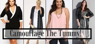 Image result for dresses that hide belly and love handles
