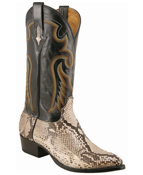 17f6d3c8764 Lucchese Handcrafted 1883 Belly Cut Python Cowboy Boots - Sheplers ...