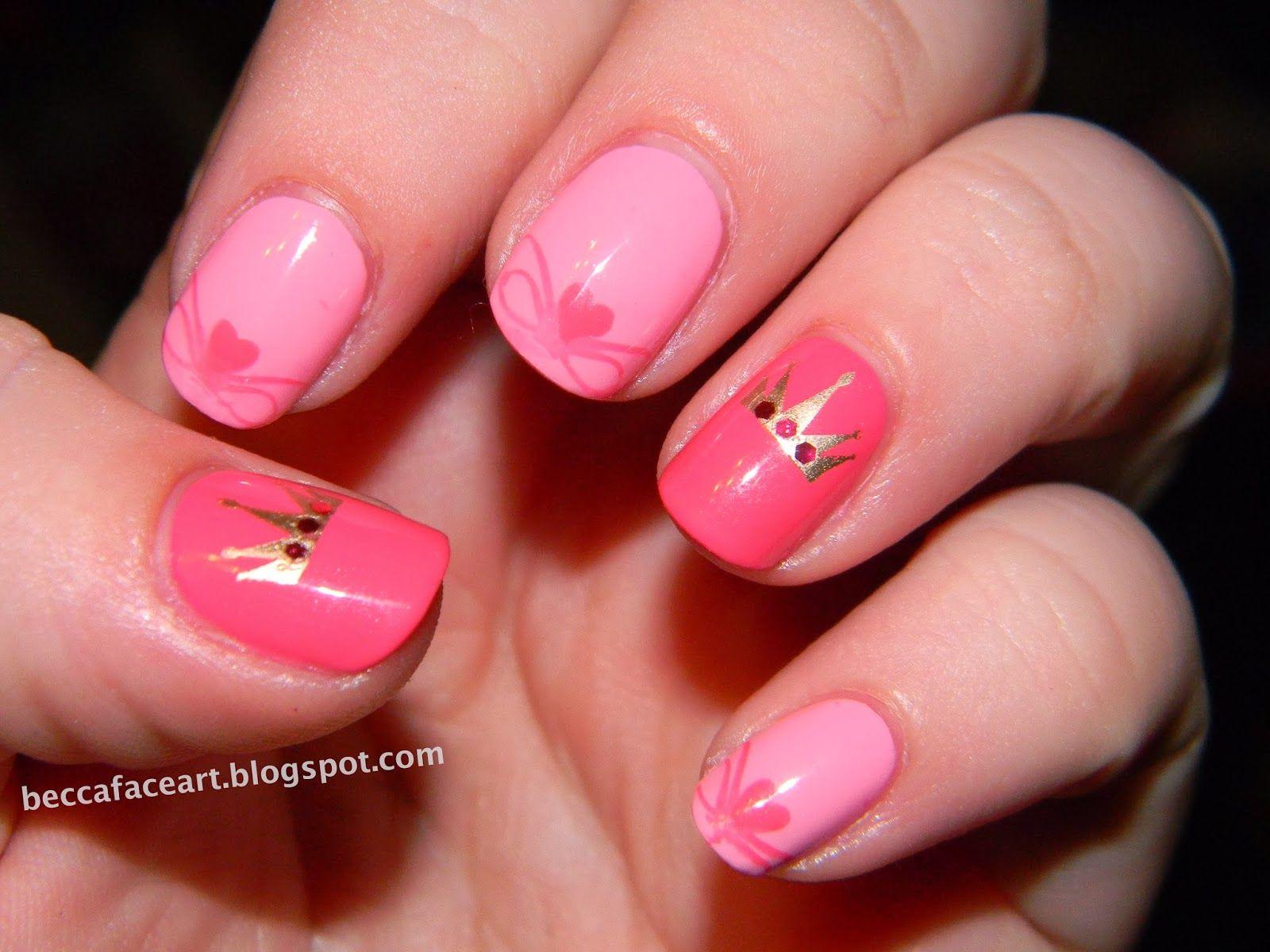 Princess Nail Art Pretty Nails
