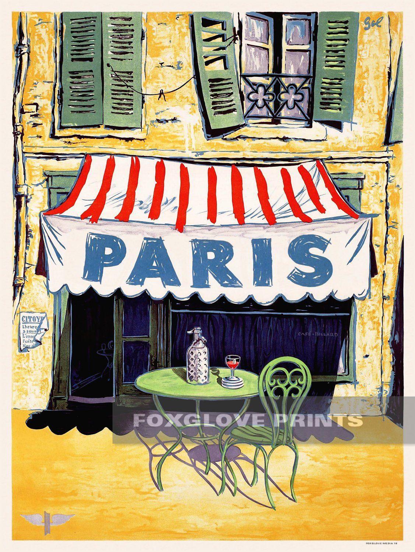 Image result for Paris antique poster