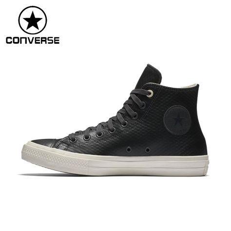 1d27fbfbcc Original New Arrival Converse ALL STAR Unisex Leather Skateboarding ...