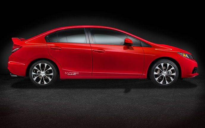 Awesome Exterior Photo Of 2013 Honda Civic Si Sedan