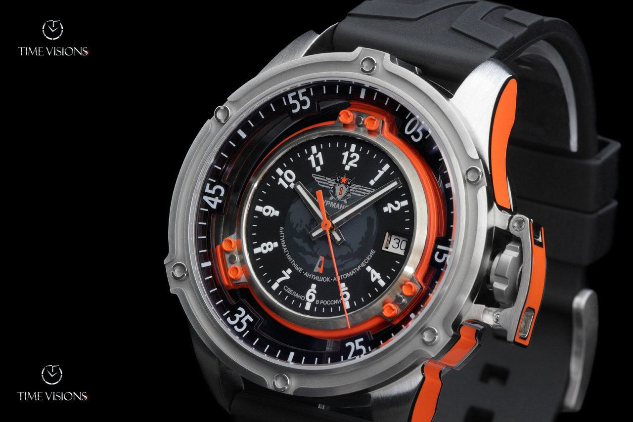 Sturmanskie Mars Cosmonaut Swiss ETA 2824 Automatic Watch with 2 straps -  2824-2 3375861 7f5ccad4b0d