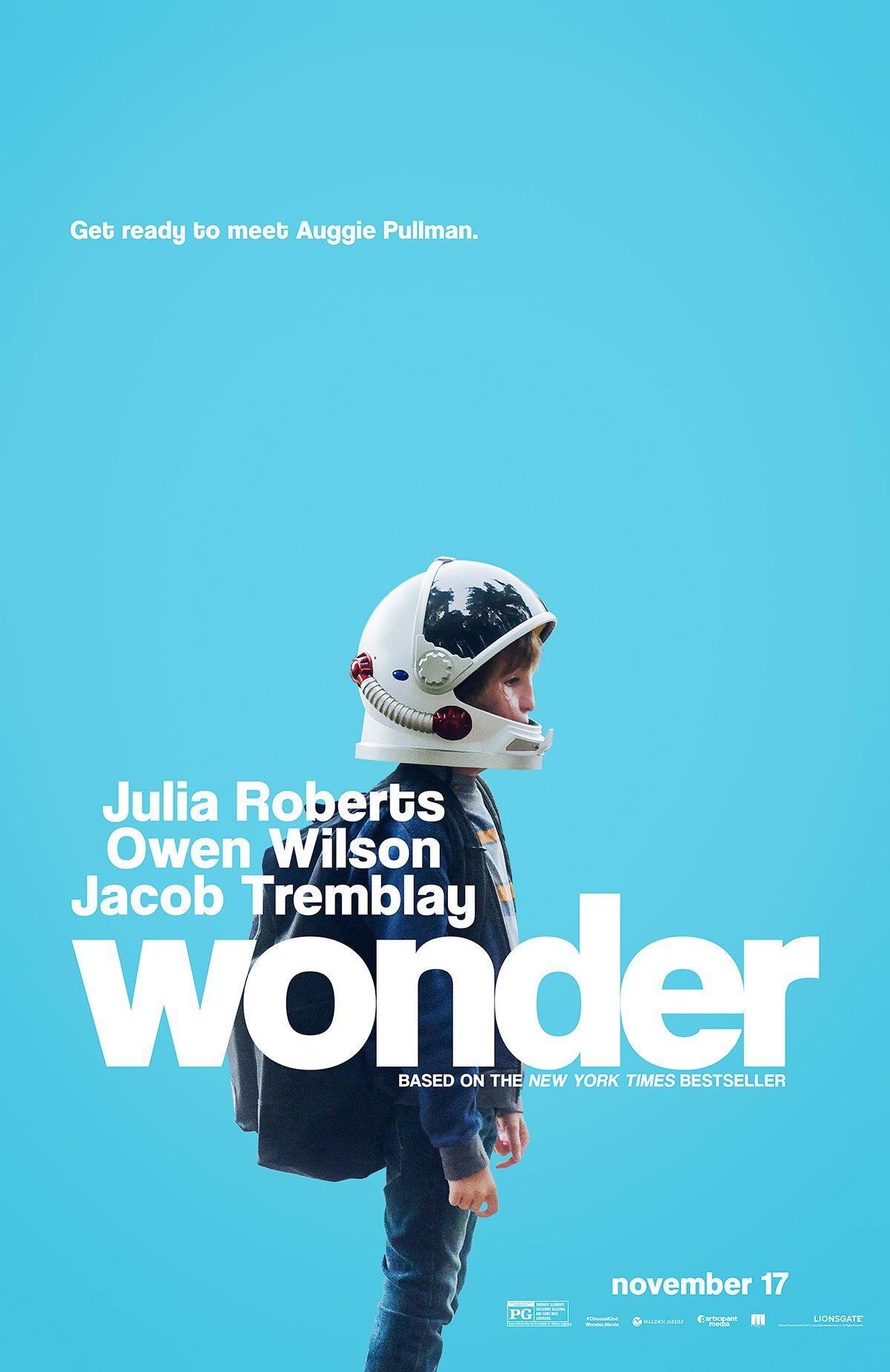 Wonder Starring Julia Roberts Owen Wilson Jacob Tremblay In Theaters November 17 2017 Lautan